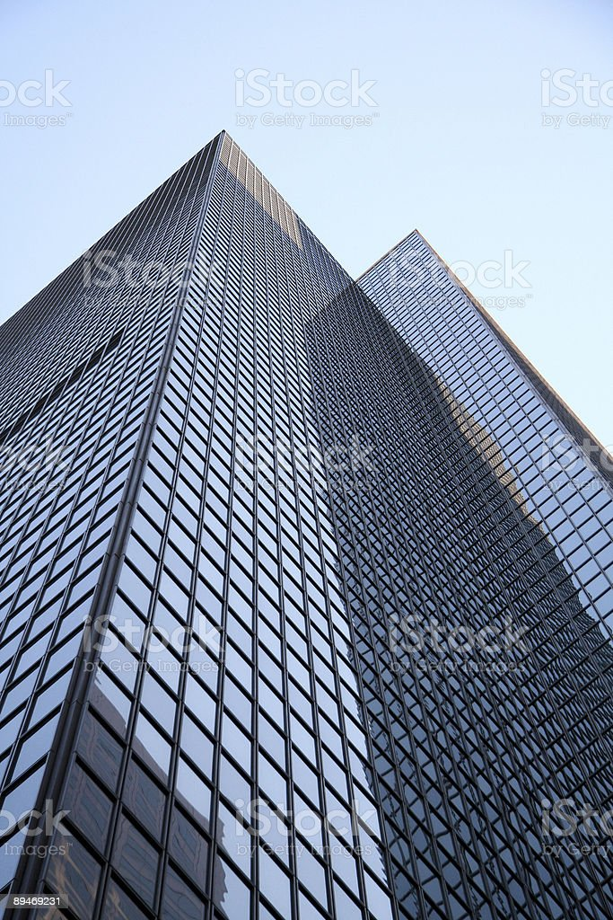 Rascacielos de LA ciudad foto de stock libre de derechos