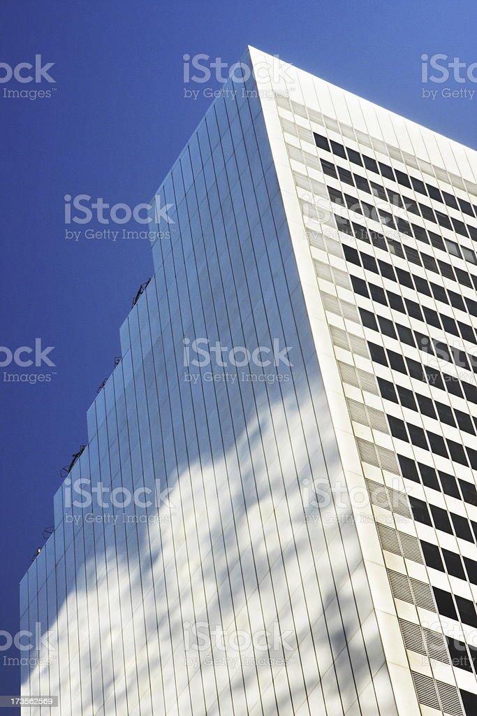 Skyscraper Urban Corporate Office Building royalty-free stock photo