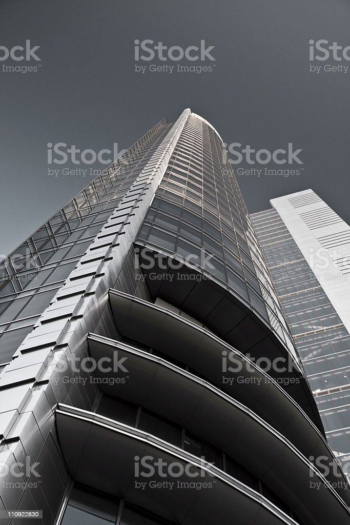 Skyscraper - Warsaw, Poland. royalty-free stock photo