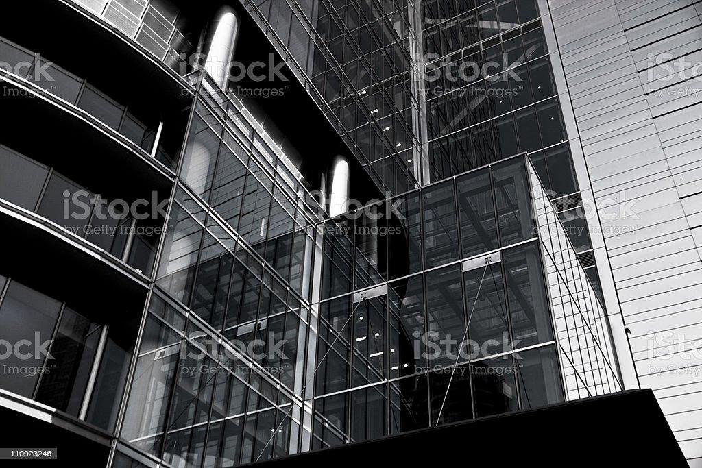 Skyscraper - Warsaw, Poland. royalty-free stock photo