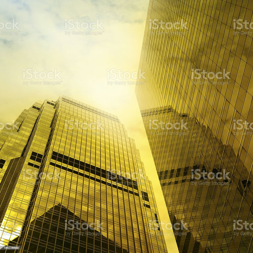 Skyscraper with Sunlight royalty-free stock photo