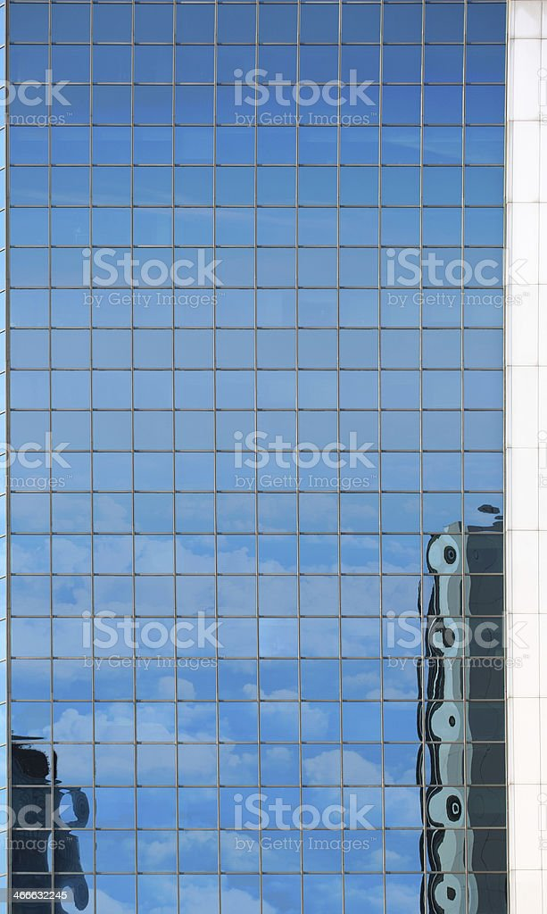 Skyscrapers and Reflection royalty-free stock photo