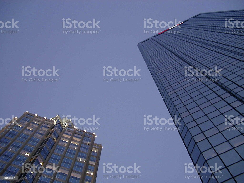 Skyscrapers II royalty-free stock photo