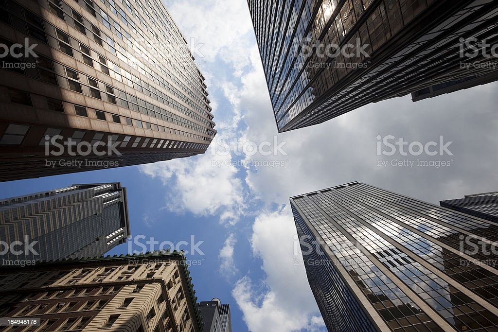 Skyscrapers im New York royalty-free stock photo
