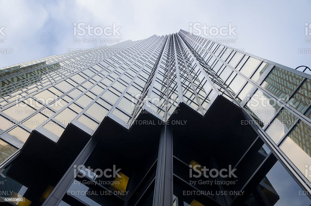 Toronto, Canada - January 27, 2016: Skyscrapers in Downtown Toronto stock photo