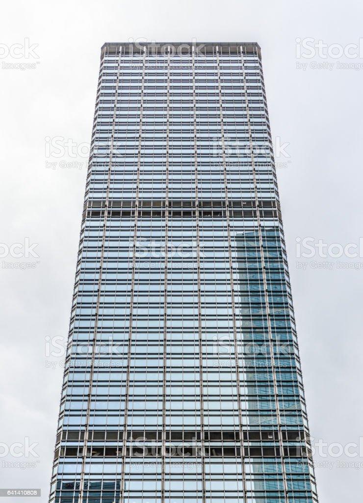Skyscrapers in Hong Kong stock photo