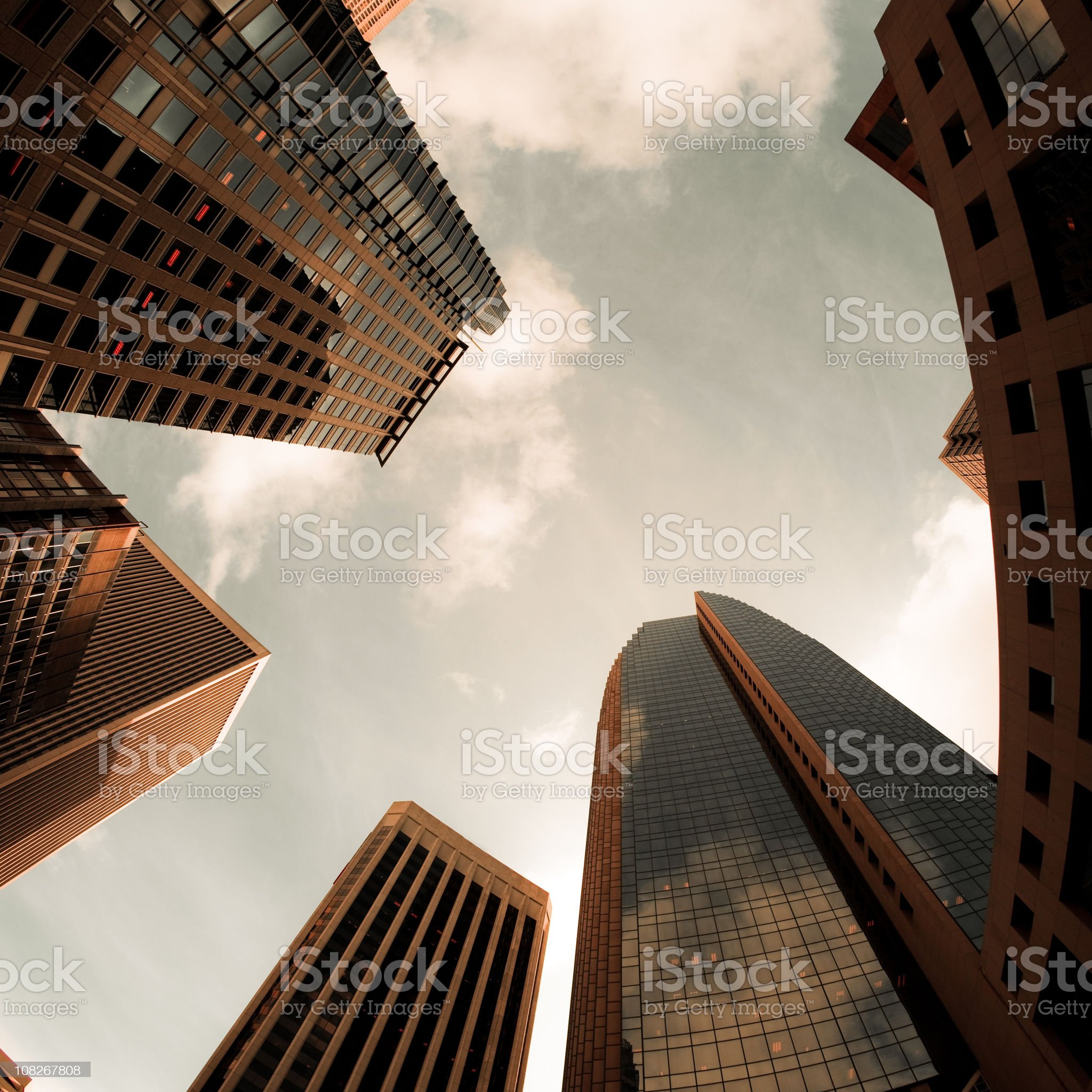 Skyscrapers in San Francisco royalty-free stock photo