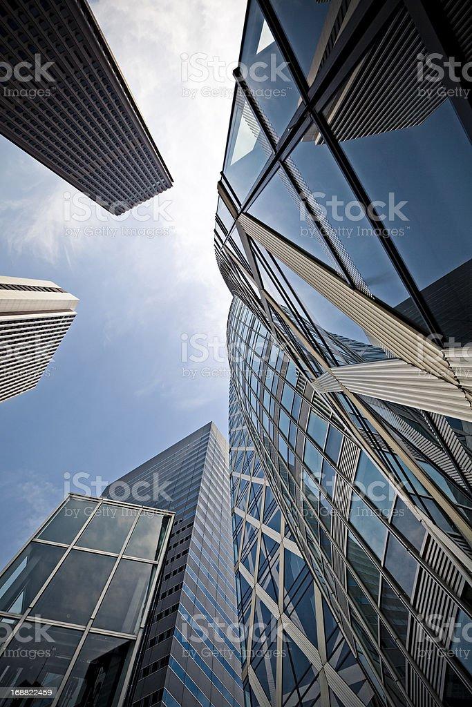 skyscrapers in shinjuku tokyo, japan royalty-free stock photo