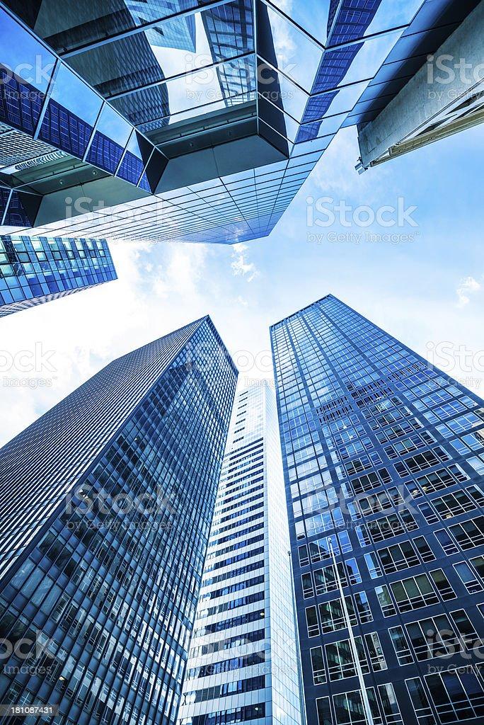 Skyscrapers New York royalty-free stock photo