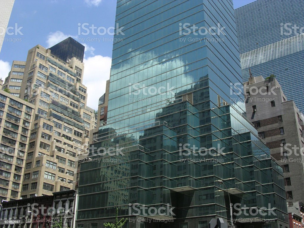 Skyscrapers NYC royalty-free stock photo