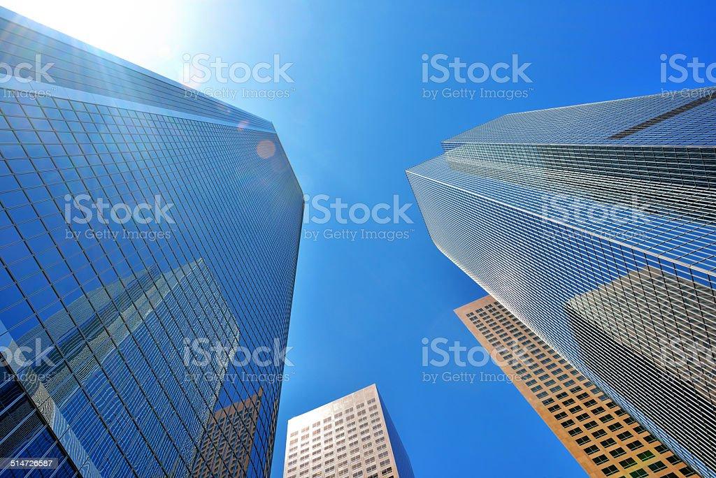 Skyscrapers of Los Angeles stock photo