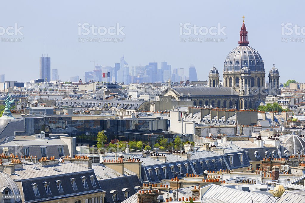 Skyscrapers of Paris royalty-free stock photo