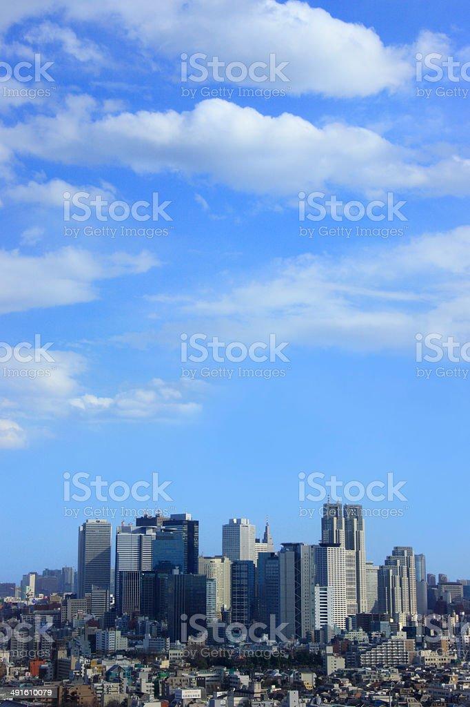 Skyscrapers of Shinjuku Subcenter Area stock photo