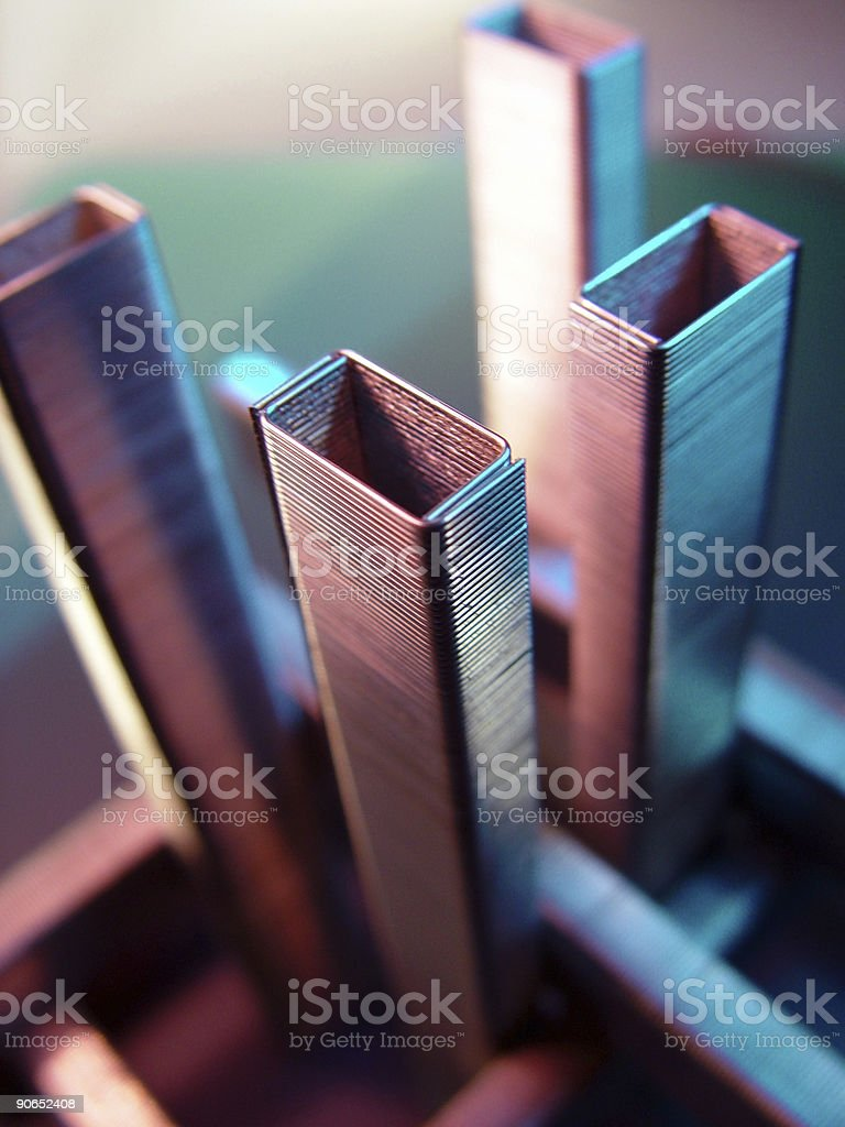 Skyscrapers of Staples royalty-free stock photo