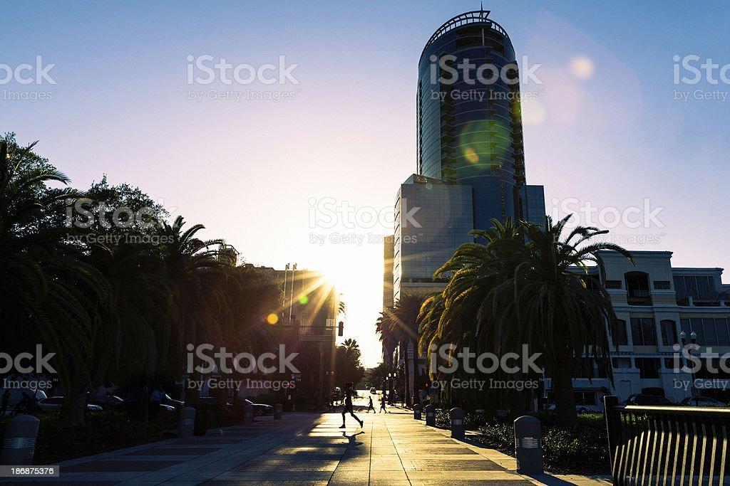 Skyscrapers Orlando royalty-free stock photo