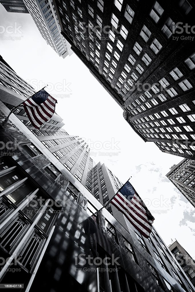 US skyscrapers royalty-free stock photo