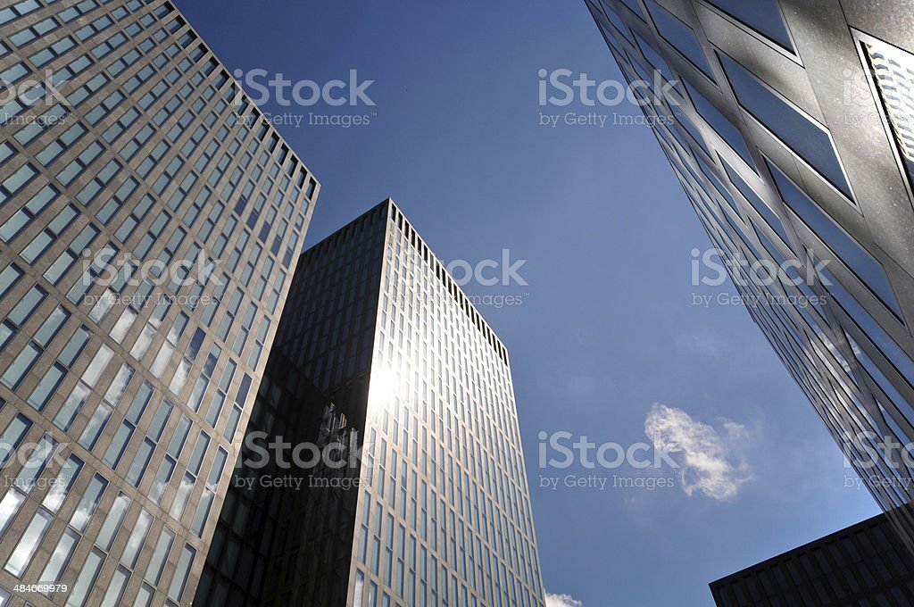 Skyscrapers - Zurich royalty-free stock photo