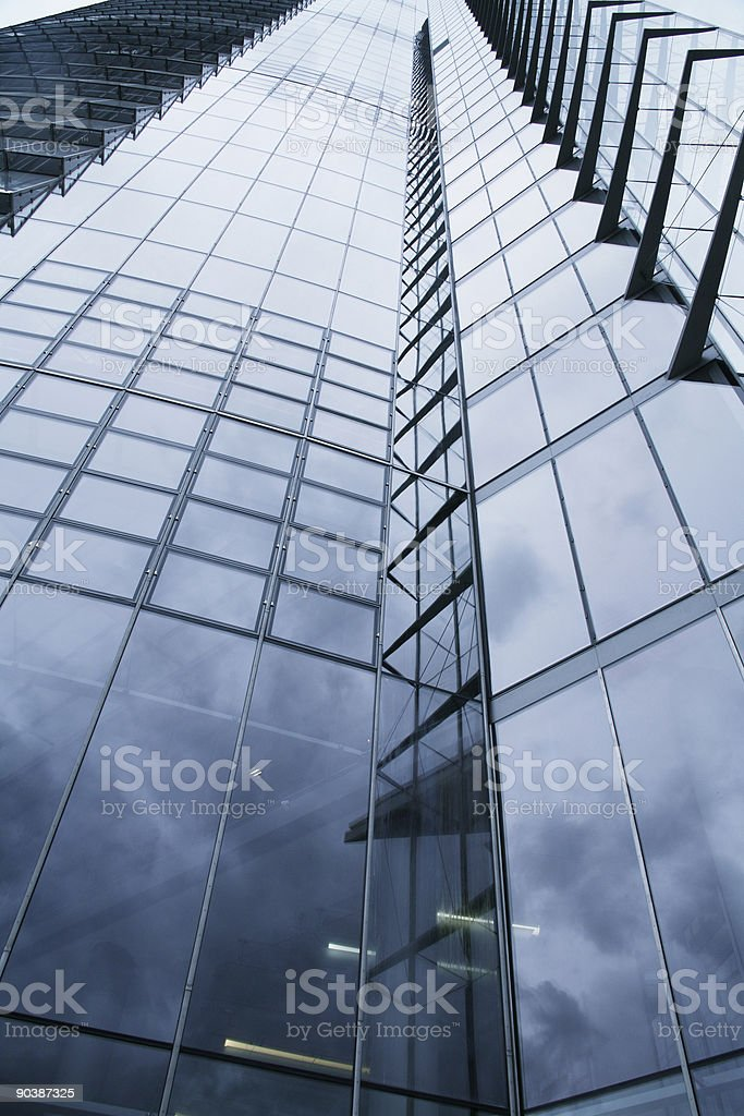 Skysraper windowfront royalty-free stock photo