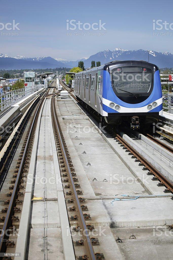 Skytrain royalty-free stock photo