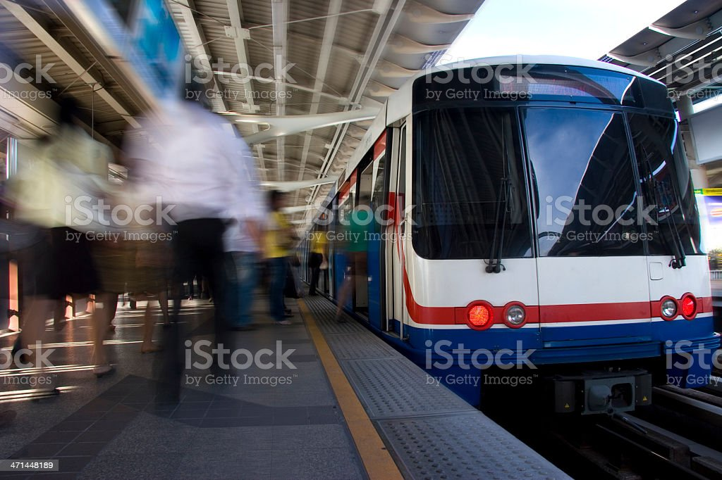 Skytrain stock photo