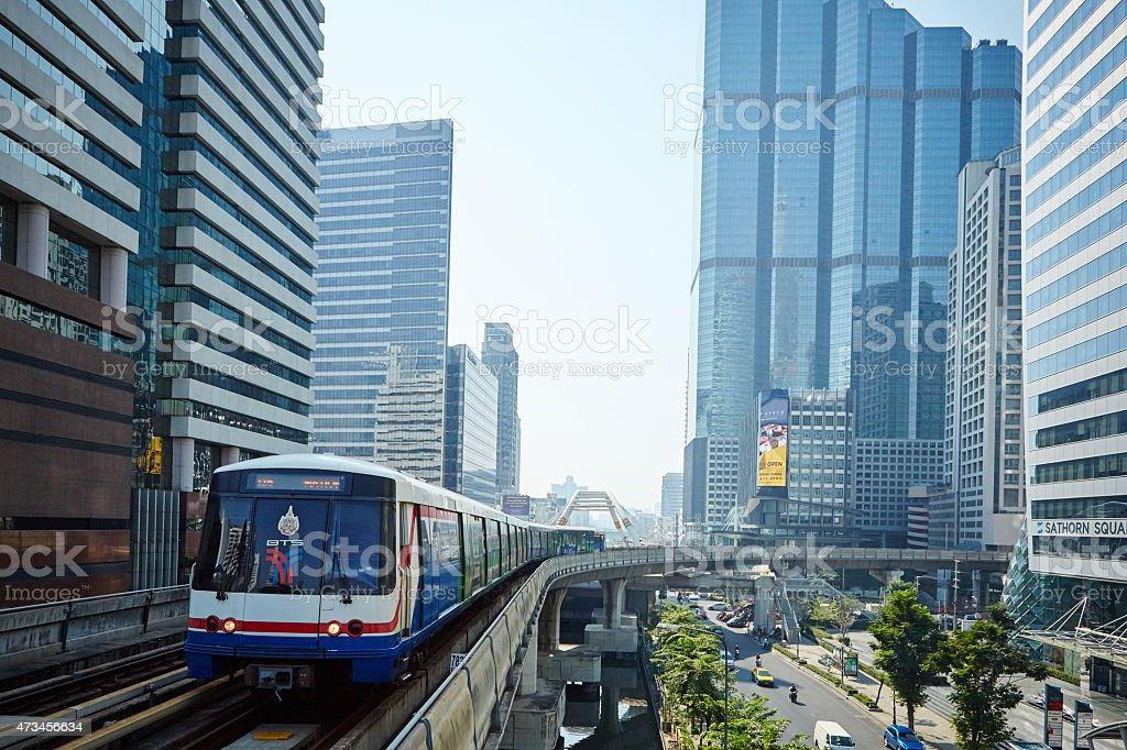 Skytrain (BTS) stock photo