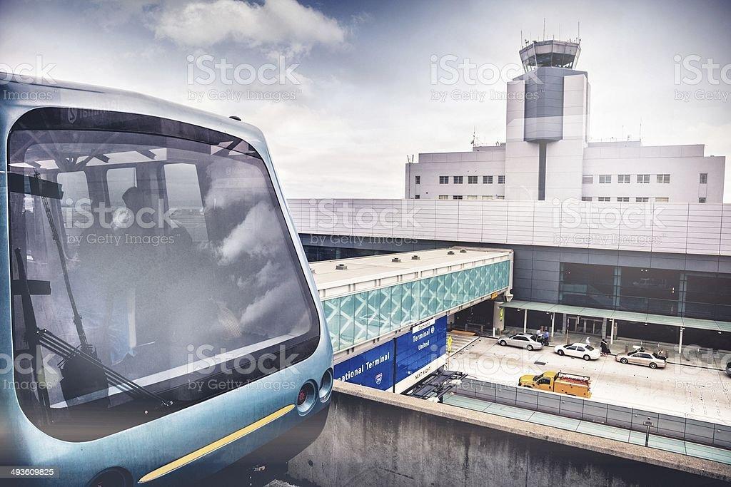 Skytrain Terminal connections stock photo