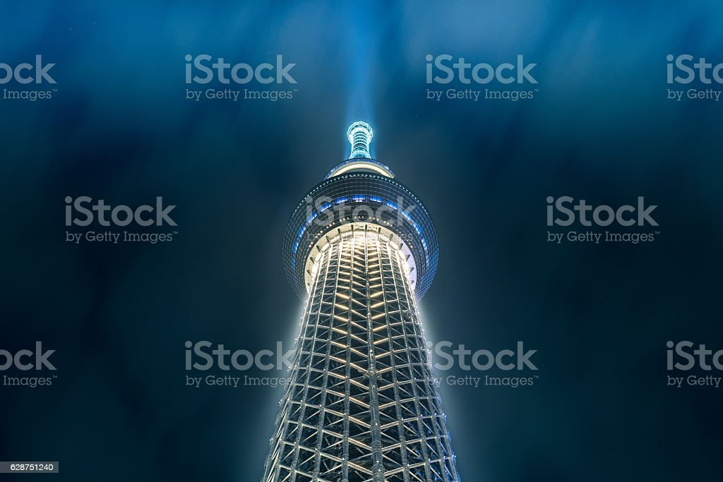 skytree stock photo