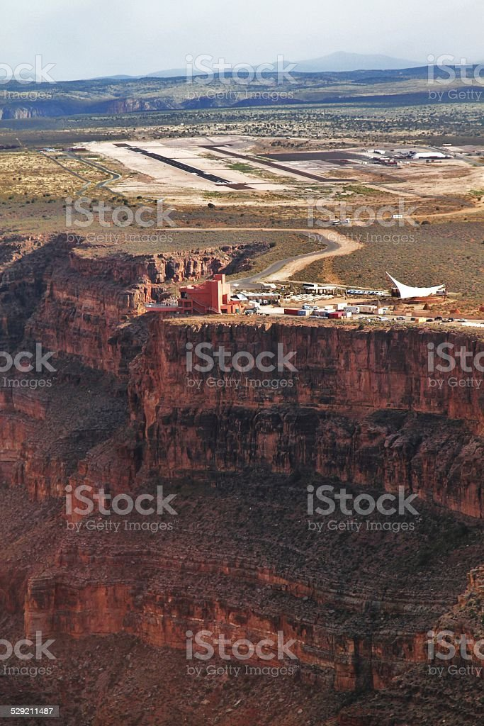 Skywalk deck - Grand Canyon - National Park stock photo
