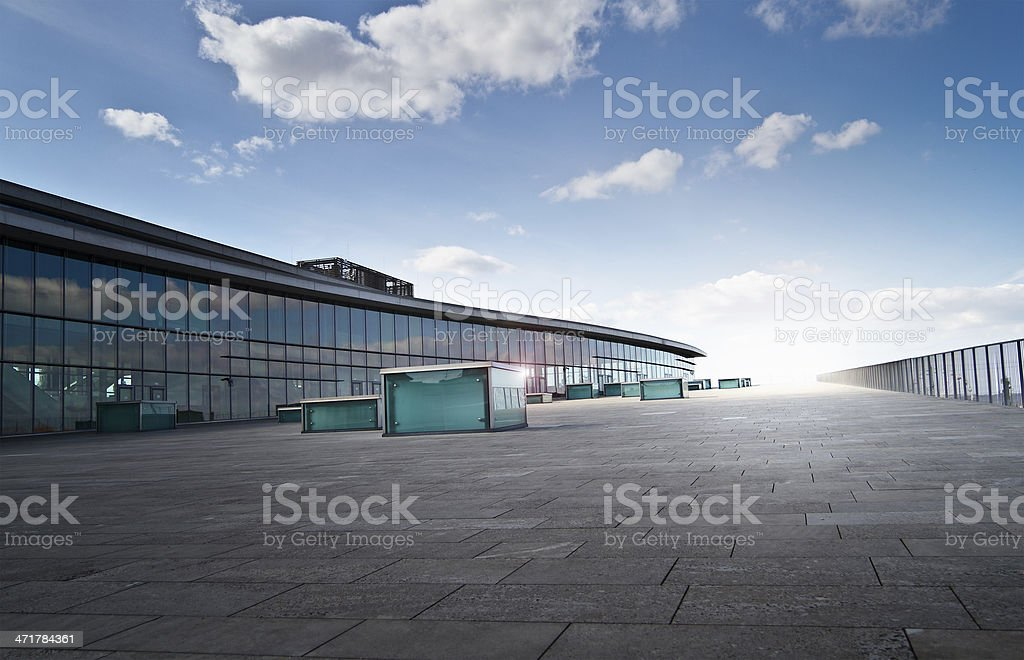 Skywalk royalty-free stock photo