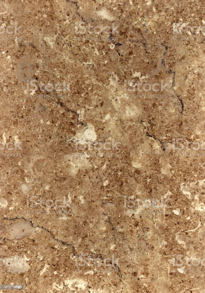 Slab of brown tinted marble texture royalty-free stock photo