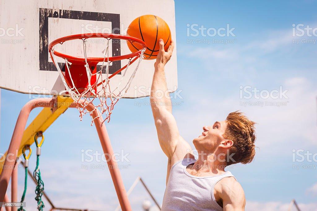 Slam Dunk. stock photo