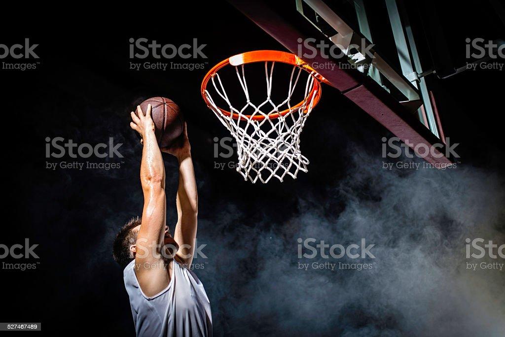 Slam Dunk stock photo