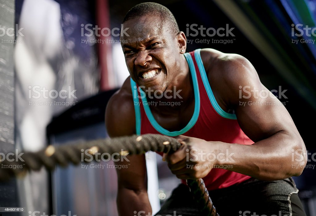 Slam, strengthen and sweat your way to a killer body stock photo