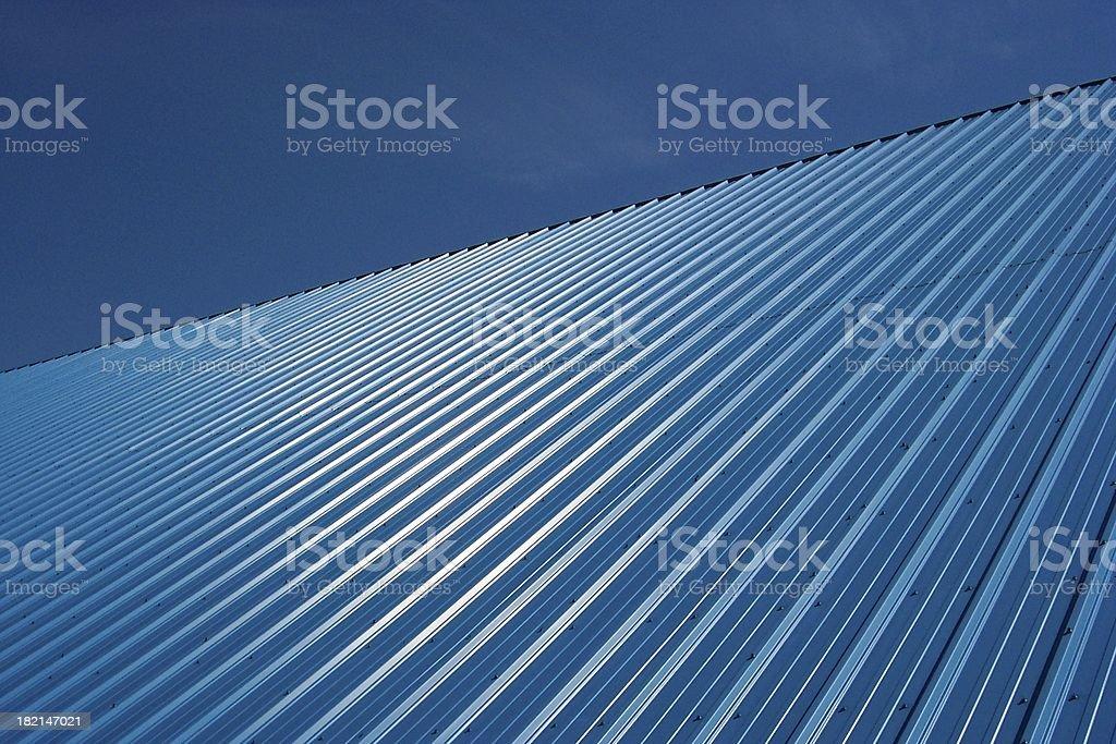 Slanted Blue royalty-free stock photo