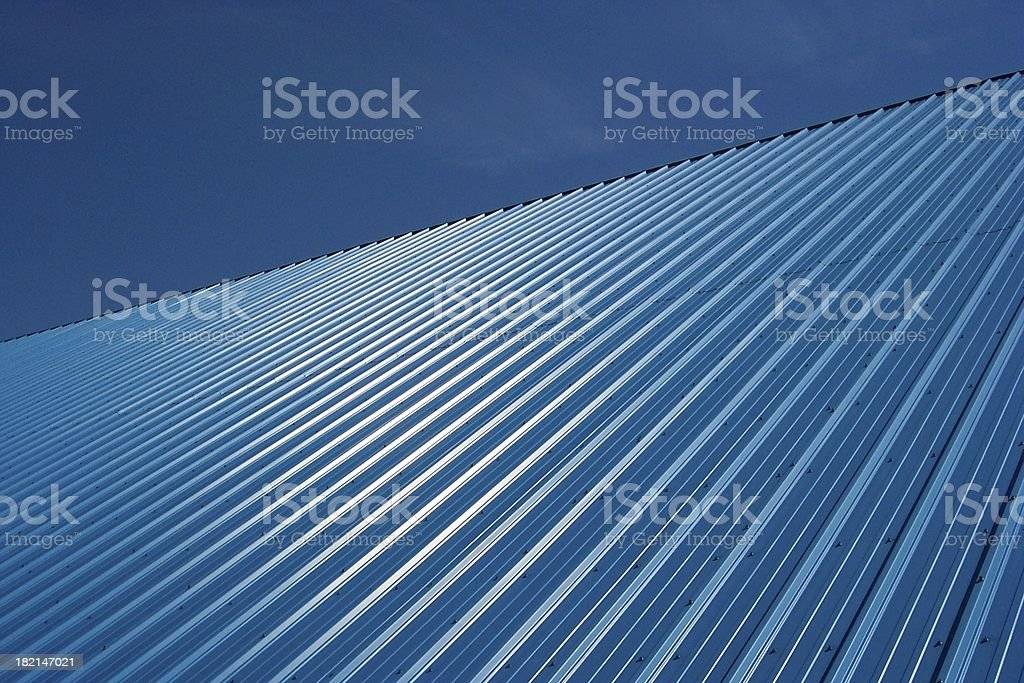 Slanted Blue stock photo