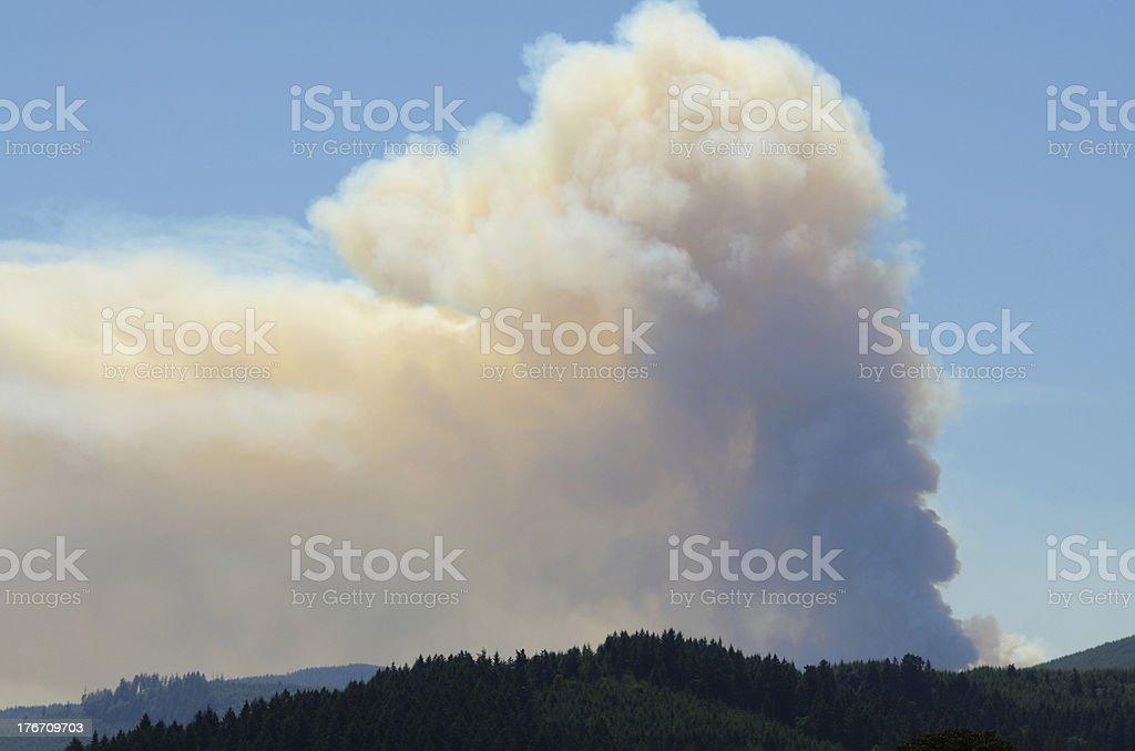 Slash Fire royalty-free stock photo