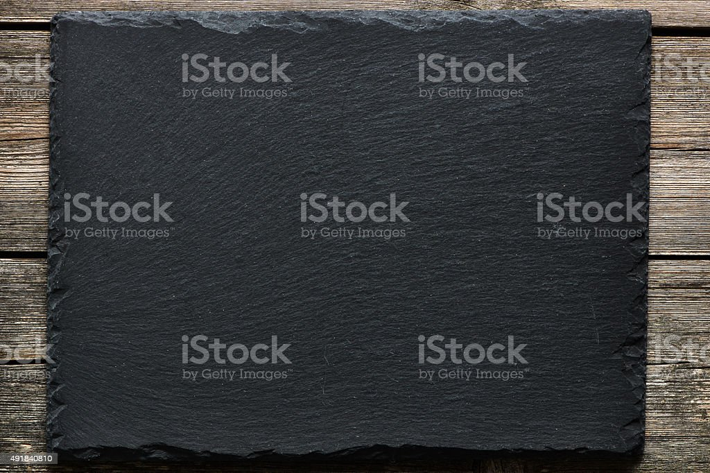 Slate background stock photo