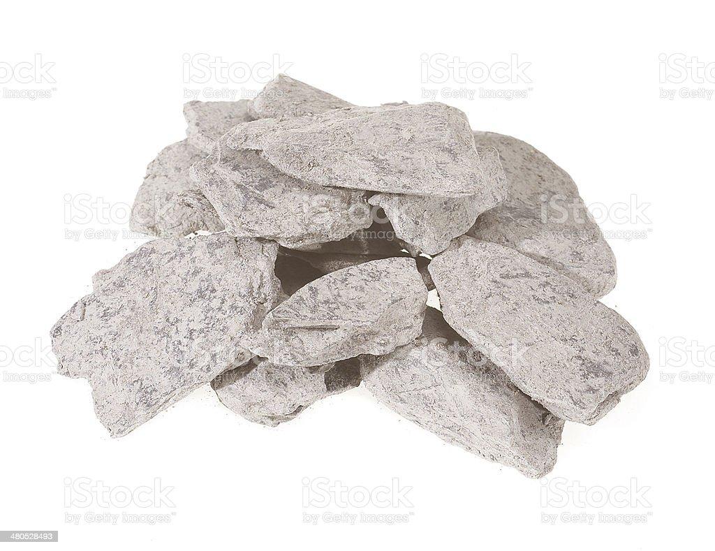 Slate chips stock photo