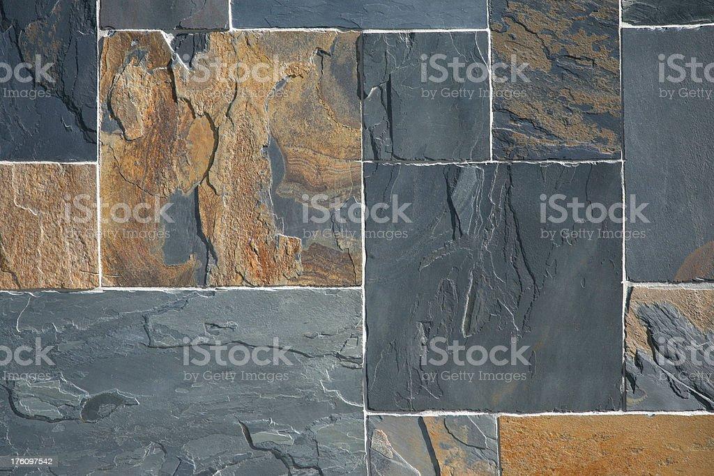 Slate Stone Pattern royalty-free stock photo