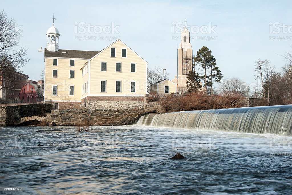Slater Mill stock photo