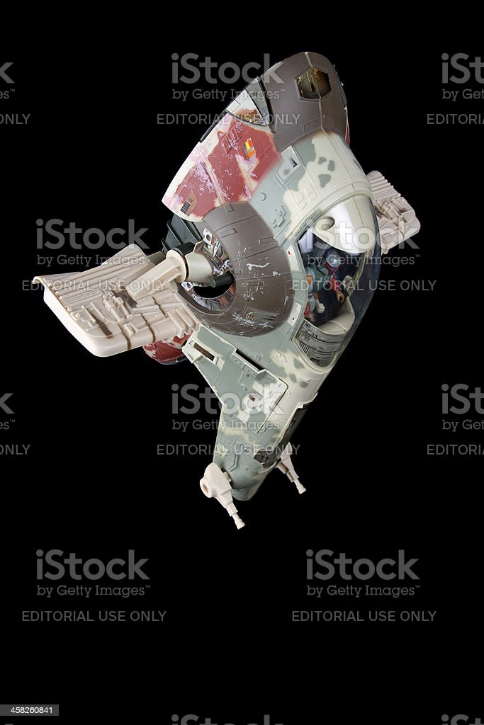 Slave 1 and the Black royalty-free stock photo