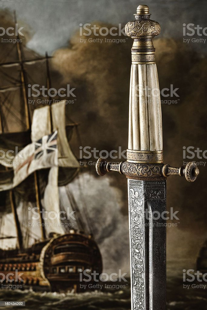 Slavic Dagger royalty-free stock photo