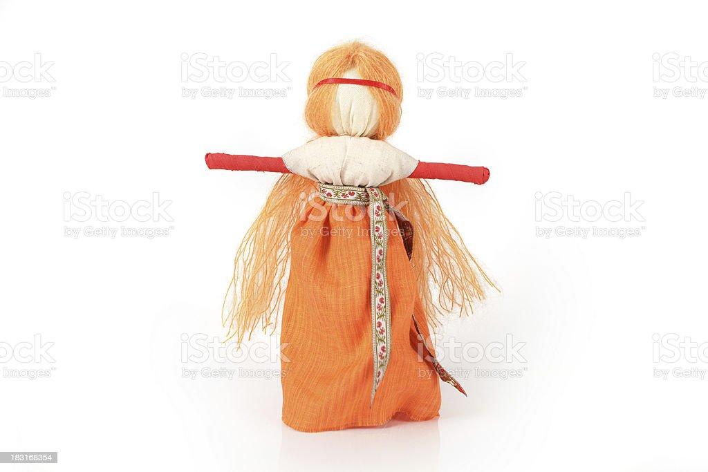 Slavic traditional doll called Paraskeva royalty-free stock photo