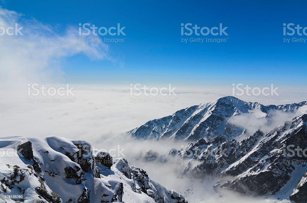 Slavkovsky stit stock photo