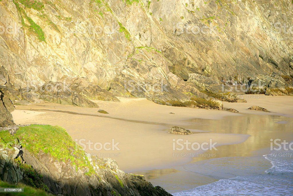 Slea Head Beach - Ireland stock photo