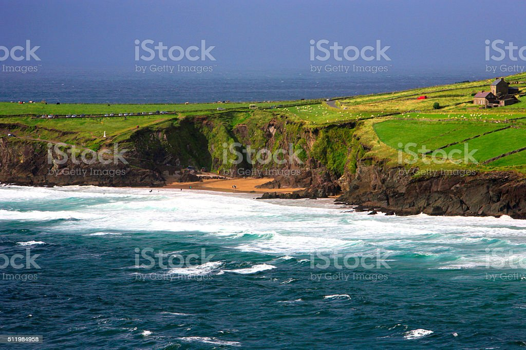 Slea Head coastline - Ireland stock photo