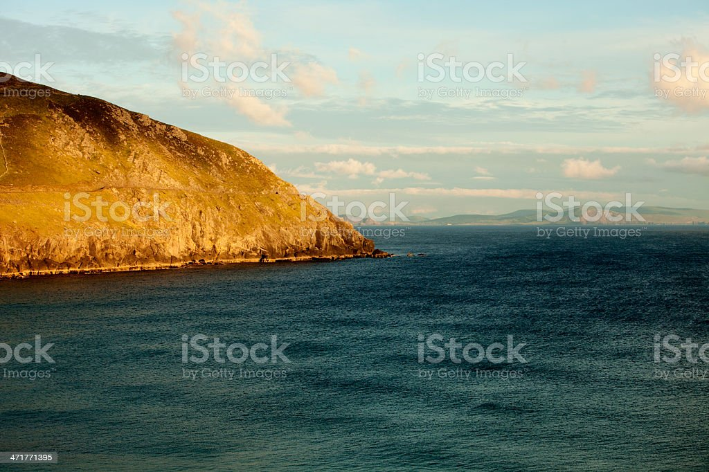 Slea Head in Ireland stock photo