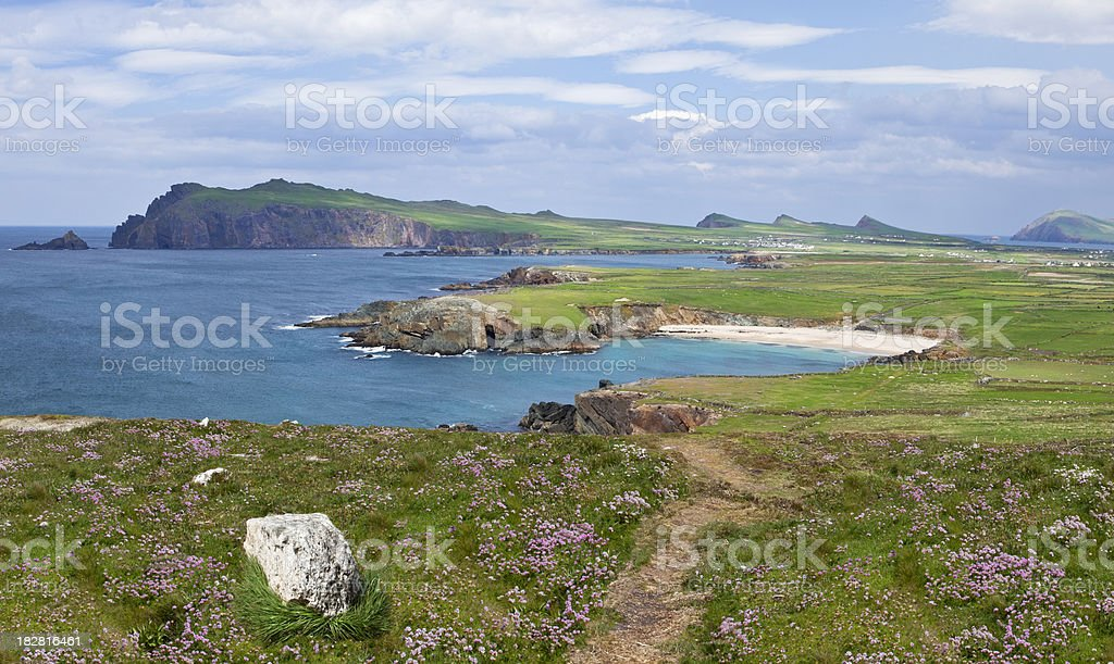 Slea Head, Ireland stock photo
