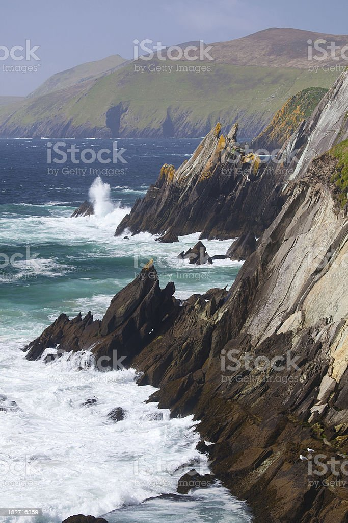 Slea Head on the Dingle Peninsula stock photo