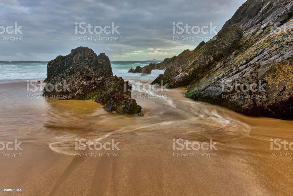 Slea Head,Dingle peninsula stock photo